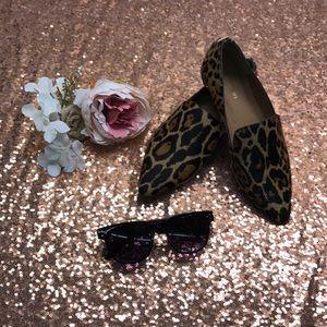 Calvin Klein Flats, Leopard, 5M